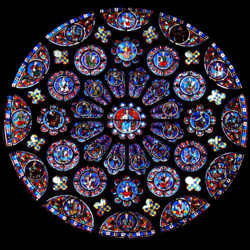 Chartres Cathedral south rose
