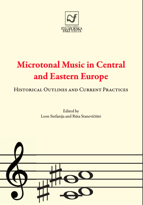 cover of the book Microtonal Music in Central and Eastern Europe
